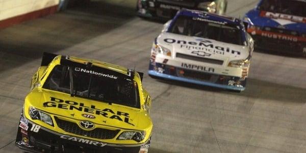 NASCAR Nationwide: Joey Logano Wins At Bristol Motor Speedway (VIDEO)