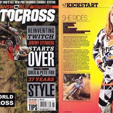 Alexah Pearson Supercross Magazine