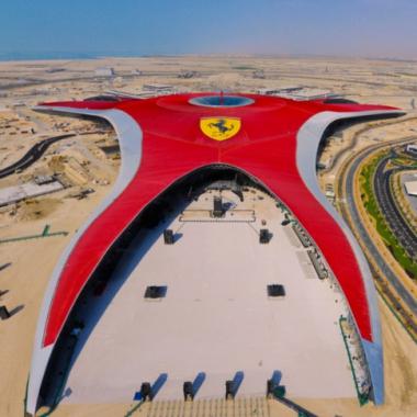 Ferrari Roller Coaster Formula Rossa Worlds Fastest