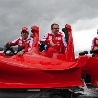 Ferrari Roller Coaster Formula Rossa Worlds Fastest Massa Alonso