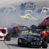 NASCAR whelen modified crash bristol motor speedway august 2012