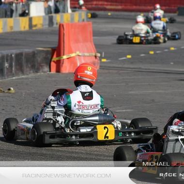 2009 Karting Michael Schumacher SKUSA SuperKarts USA Las Vegas
