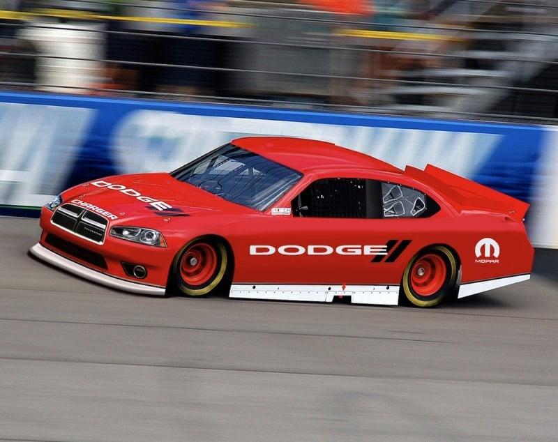 2011 Dodge Charger Chrysler Leaving NASCAR