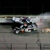 2011 Kyle Busch Crashes Ron Hornaday NASCAR Truck Series Texas Motor Speedway
