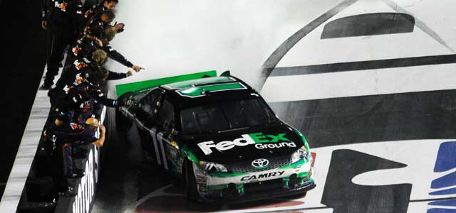 NASCAR CUP: Hamlin Wins Action-Packed Cup Race at Bristol