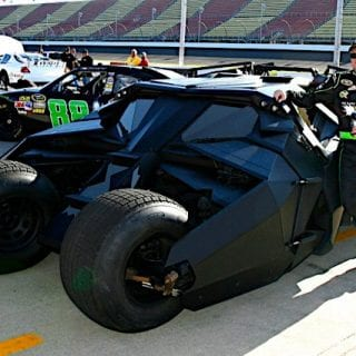 2012 Dale Earnhardt Jr NASCAR Drives Batman Tumbler Batmobile