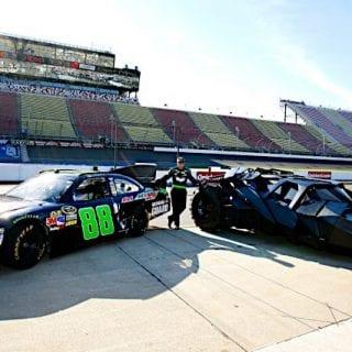 2012 Dale Earnhardt Jr NASCAR Drives Batman Tumbler Batmobile