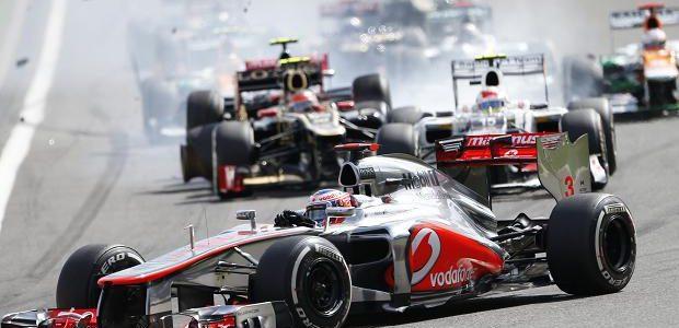 F1: Jenson Button Wins Spa-Francorchamps (Full Results)