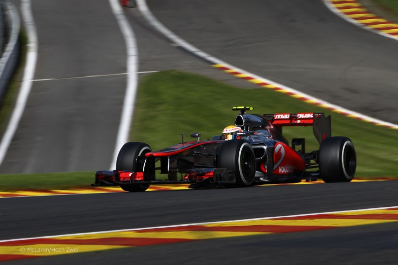 2012 Lewis Hamilton Spa (McLaren Mercedes)