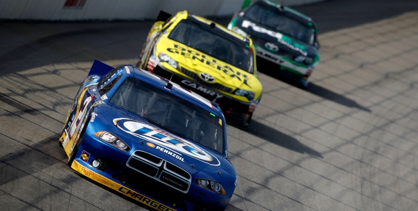 NASCAR CUP: Keselowski Strikes First, Wins Chase Opener At Chicagoland Speedway