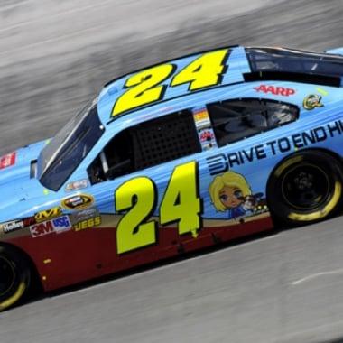 2012 NASCAR Farmville Facebook Jeff Gordon Bristol Motor Speedway