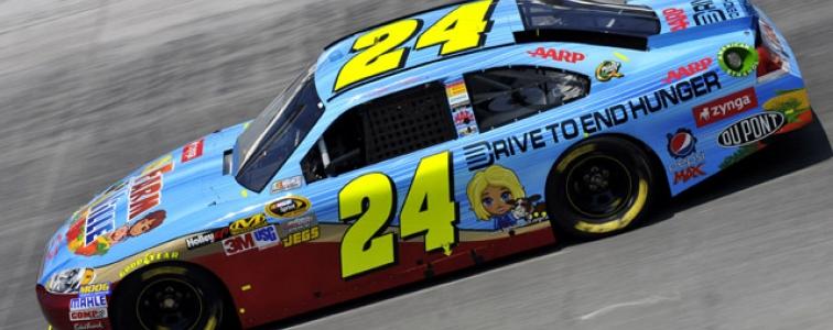 NASCAR CUP: Jeff Gordon FarmVille Sponsored Bristol Motor Speedway Car (Photos)