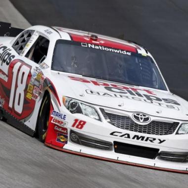 2012 NASCAR Joey Logano Driving For Joe Gibbs Racing Wins Dover