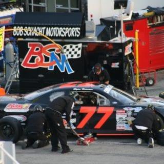 2012 Rev-Oil Pro Cup Series Driver Ryan Heavner #77
