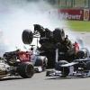 2012 Spa Formula One Crash