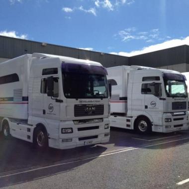 2012 Williams Formula One Team Race Shop