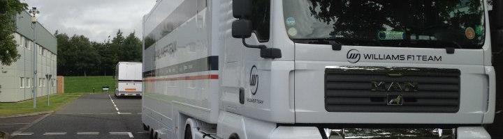 F1: Williams Formula One Team Build Up To Belgium (PHOTOS)