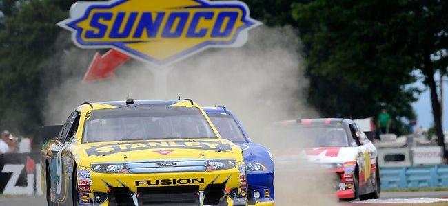 NASCAR CUP: Marcos Ambrose Wins At Watkins Glen