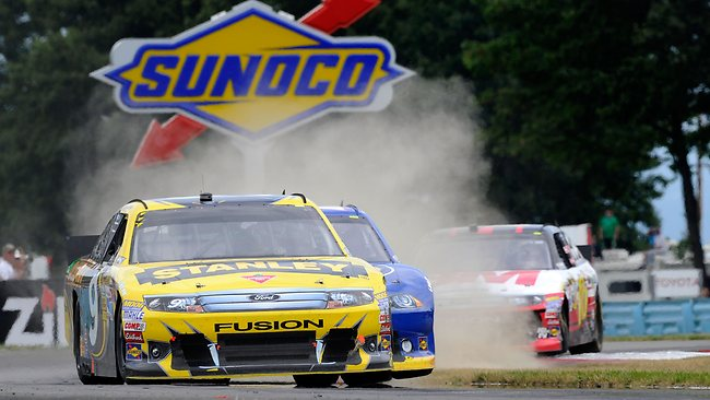 2012 Marcos Ambrose Nascar Watkins Glen Road Course Win