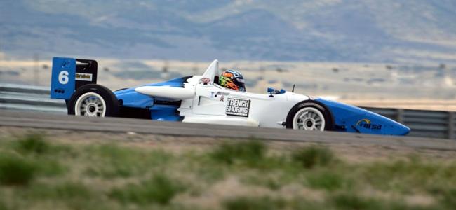 F2000: Camden Geise Racing Debuts New Website