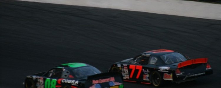 PRO CUP: Ryan Heavner Runs Top Five At Caraway Speedway