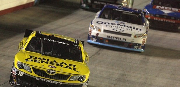 NASCAR Nationwide: Joey Logano Wins At Bristol Motor Speedway (VIDEO)
