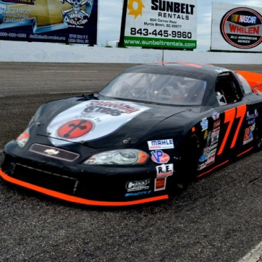 2012 Rev-Oil Pro Cup Series Driver Ryan Heavner #77