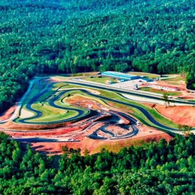 Atlanta Motorsports Park AMP Aerial Photo