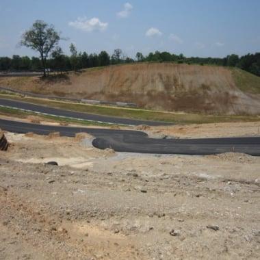 Atlanta Motorsports Park AMP Kart Track
