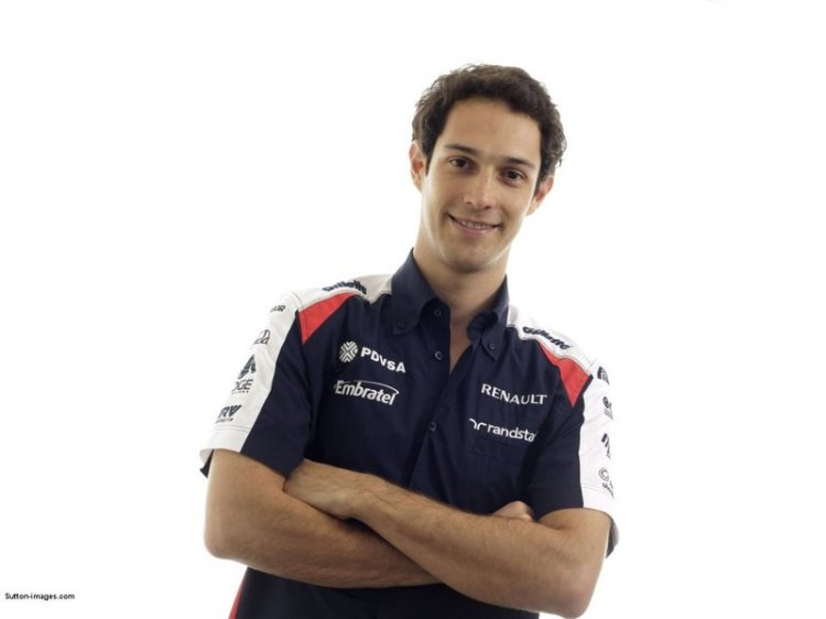 Bruno Senna Williams F1 2012