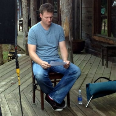 Dale Earnhardt Jr CBS This Morning Show - Note To Self