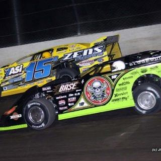 Eldora Speedway World 100 Brian Birkhofer and Scott Bloomquist