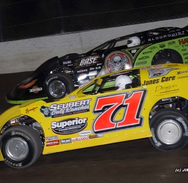 Eldora Speedway World 100 Don O'Neal and Scott Bloomquist