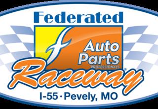 Federated Auto Parts (I55-Raceway) Pevely, MO Track Logo