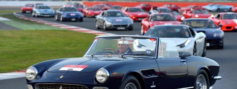 INDUSTRY: 964 Ferrari's Hit Silverstone Circuit Setting World Record (PHTOS)