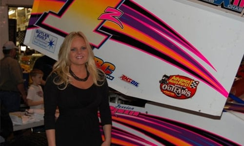 DIRT SPRINT CAR: Tony Stewart Racing Adds Driver Jessica Zemken (PHOTOS)