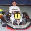 14yr Old Lewis Hamilton Mercedes Karting