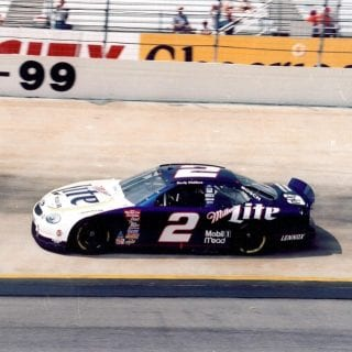 Rusty Wallace Penske Racing Bristol Motor Speedway Paint Scheme 1999