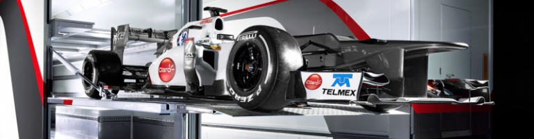 F1: Sauber F1 Starting On Front Row For First Time Since 1999