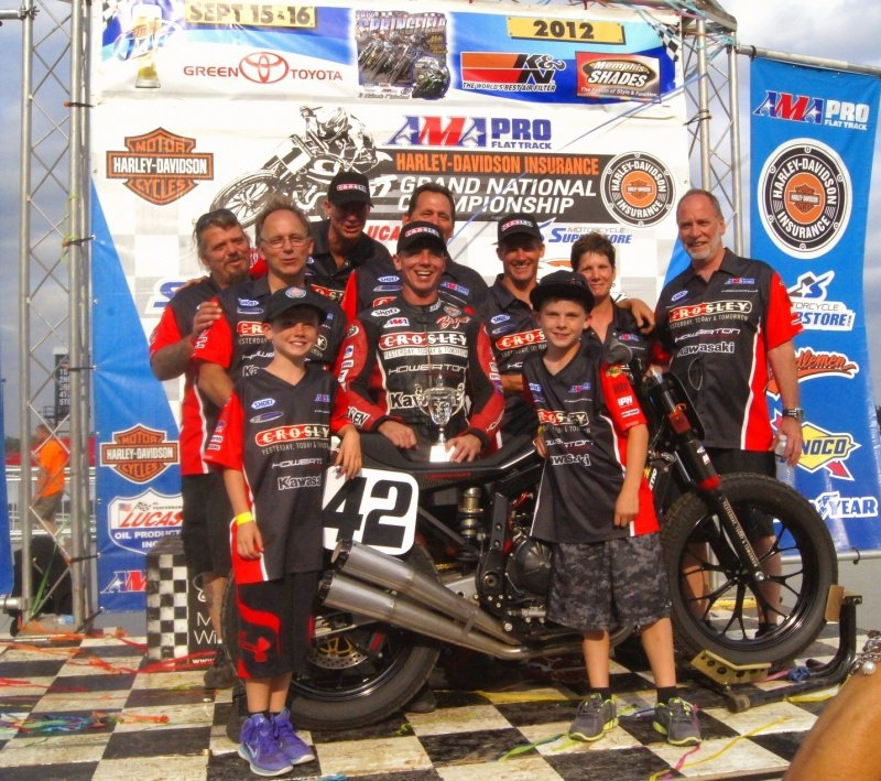 Bryan Smith Springfield Mile IL (AMA Pro Flat Track)