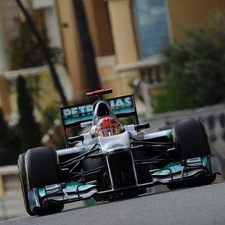 2012 Michael Schumacher (Monaco)