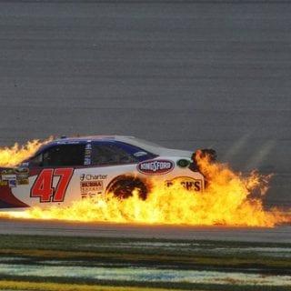2012 NASCAR CUP Big One Crash (Talladega SuperSpeedway)