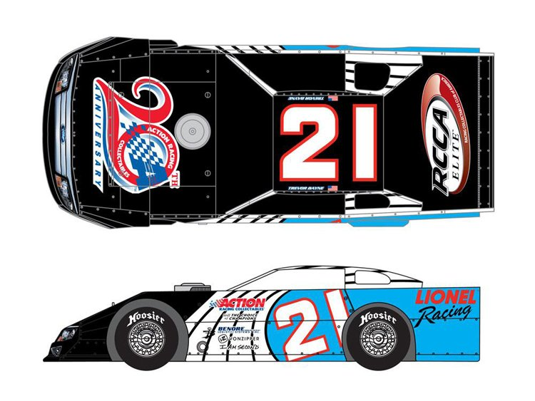 2012 NASCAR Driver Trevor Bayne (Dirt Late Model)