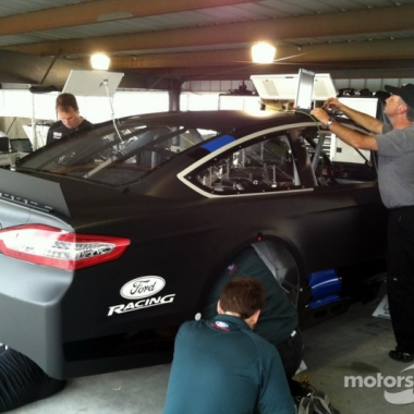2013 FORD Fusion Testing Photos (Martinsville Speedway)