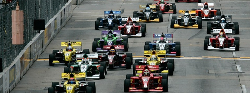 INDYCAR LIGHTS: Andretti Autosport Drivers Test Indianapolis Road Course Today
