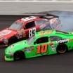 Danica Patrick Attempted Wreck of Landon Cassill (NASCAR)