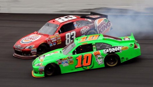 Danica Patrick Retaliation Attempt Goes Wrong
