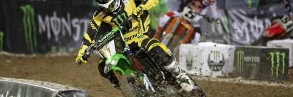 SUPERCROSS: Ryan Villopoto Monster Energy Cup Win 2012 (VIDEO)