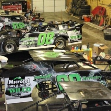 14 Year Old Jake Griffen (DIRT Late Model Shop)
