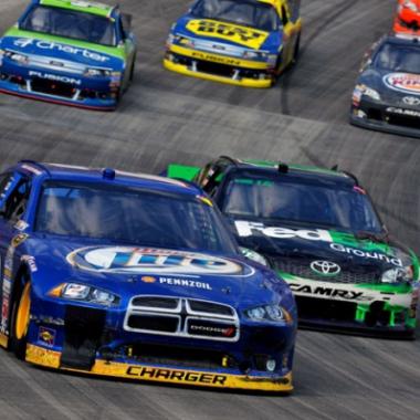 2012 Brad Keselowski NASCAR Sprint Cup Champion (Bristol Motor Speedway)